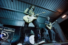 Stef Burns, Claudio Golinelli & Will Hunt-Tirano