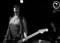 013-LeButcherettes-ARawYouthEuropeanTour2016-London-14Ottobre2016