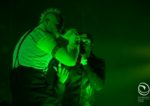 The Prodigy nel loro No Tourist Live, prima tappa del loro tour italiano  a Livorno, al Modigliani Forum.
