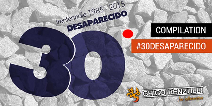 30 Desaparecido - cover
