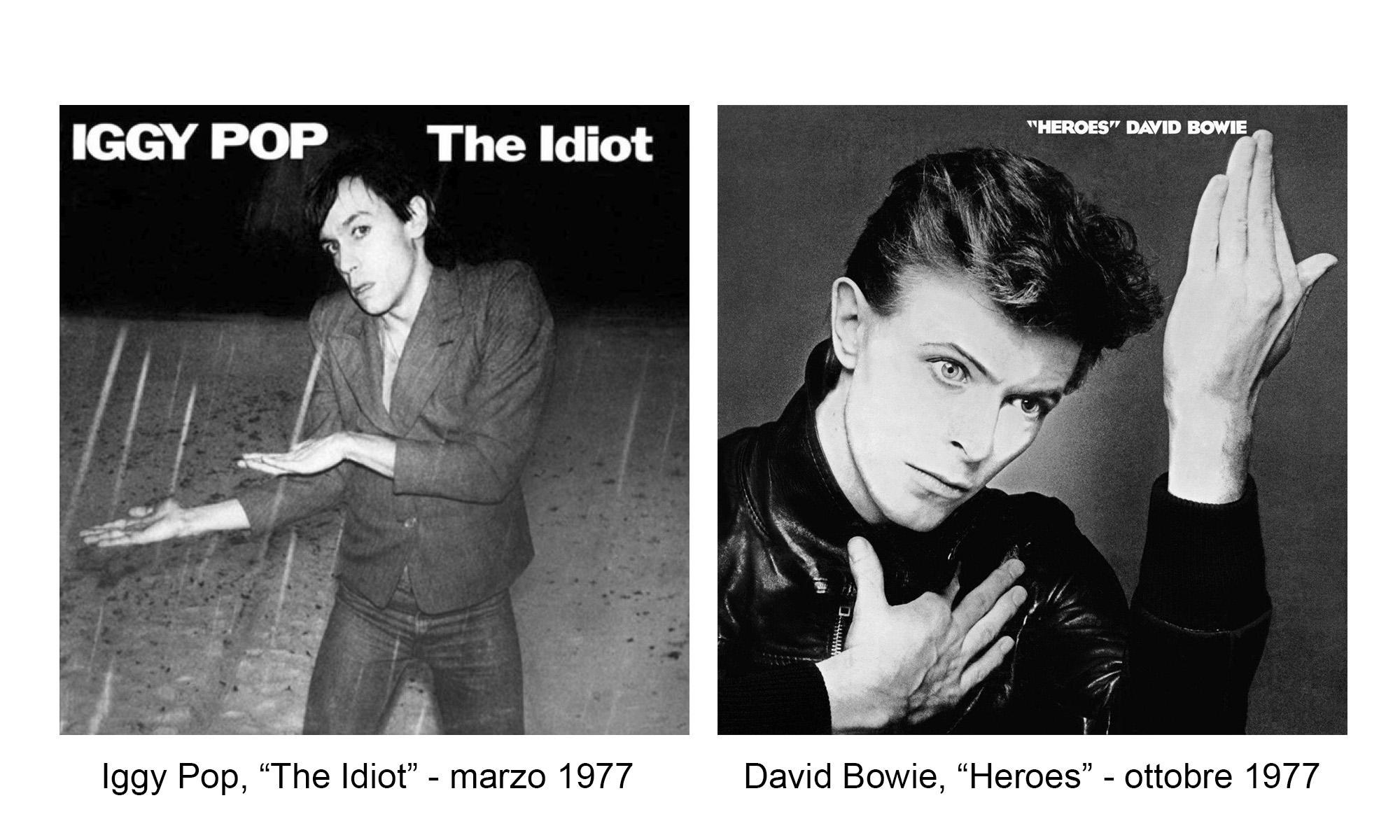 Iggy Pop David Bowie