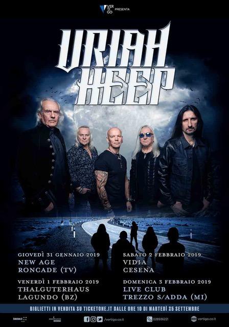 Uriah Heep - Tour 2019